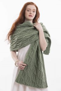 Overgrown Wrap designed by Karin Fernandes